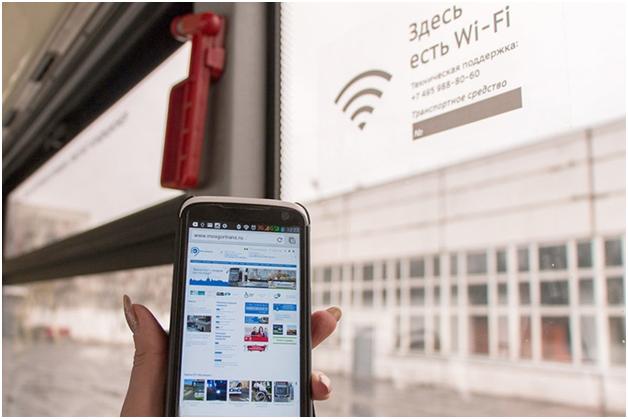 Наземный пассажирский транспорт Москвы оставили без Wi-Fi