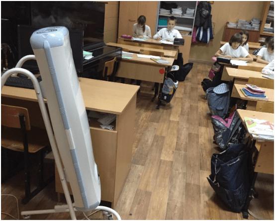 Забывчивая московская учительница едва не лишила первоклашек зрения