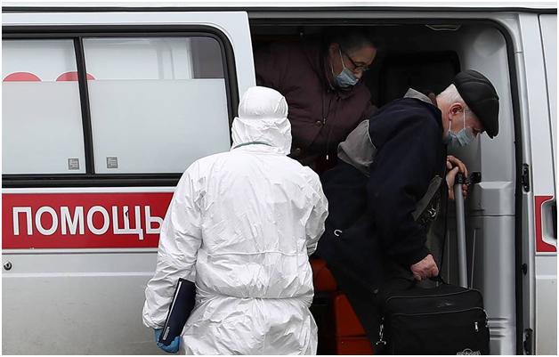В России – рекордный показатель выявленных больных коронавирусом
