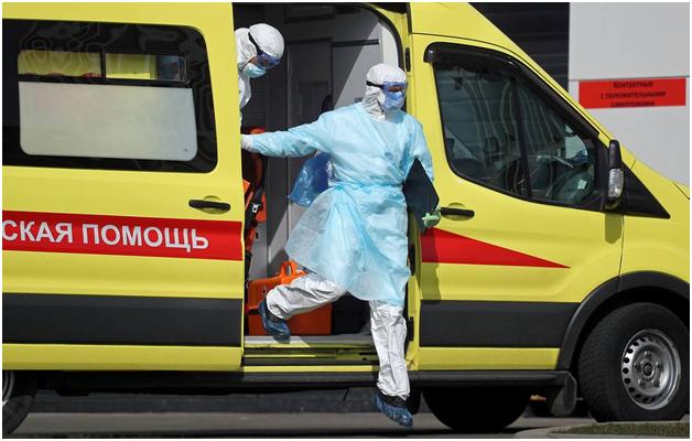 Число инфицированных коронавирусом в России приблизилось к отметке в 16 тысяч человек