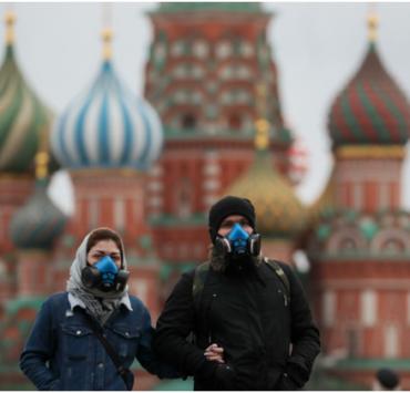 В России нарастает число заразившихся коронавирусом