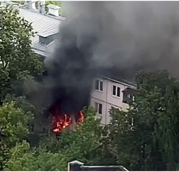 В Москве произошел взрыв газа в жилом доме