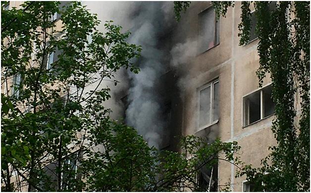 Взрыв в московской квартире унёс жизнь человека